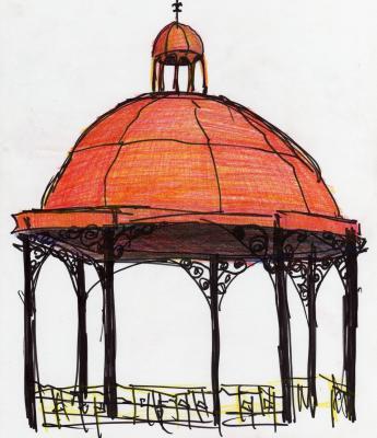 Quiosco Alegre/El Salvador - Dibujo