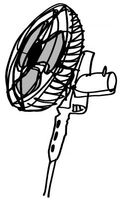 """Ventilador"" - Dibujo - El Salvador - 2007"