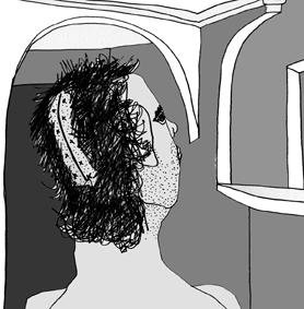 """""""Cicatriz"""" / Dibujo-Plumón-Photoshop / Mejicanos, ES - Junio 2010"""